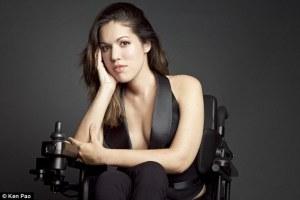 wheelchair beauty