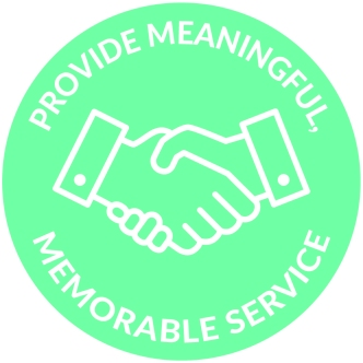 Provide Meaningful Memorable Service